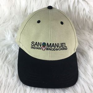 Vintage San Manuel Indian Bingo & Casino Hat